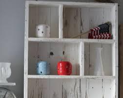 pallet wood shelf etsy