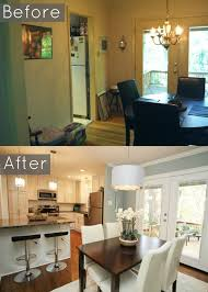 Small Kitchen Remodel Before And After Best 25 Small House Renovation Ideas On Pinterest Small Kitchen