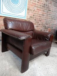 Vintage Brown Leather Armchair Eu Vintage Specialise In Retro Vintage 1960s Furniture Teak Retro