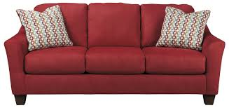 Sleeper Sofa Ashley Furniture hannin spice contemporary sofa with flared arms by signature