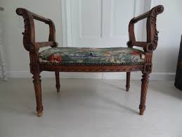 Louis Seize Chair Authentic French Louis Xvi Window Bench Tacks And Fabrics