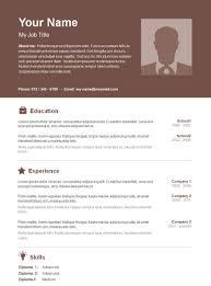 Free Basic Resume Template Elegant Resume Templates Template Microsoft Word 2 Saneme