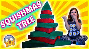 big squishy christmas tree diy how to make a squishmas tree