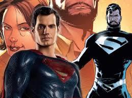 superman u0027s black costume
