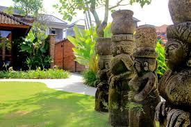 Tropical Landscape Design by Tropical Landscape Design At Kampung Joglo Villa Bali By Bali