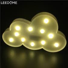 aliexpress buy leedome 3d cloud nightlights aa battery