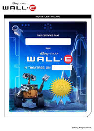wall movie certificate coloring pages hellokids