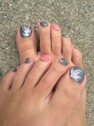 27 beach ready toe nail designs toe pedicures and makeup