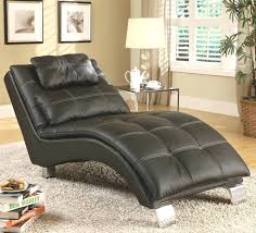 Chaise Lounge Slipcover Black Leather Chaise Lounge Slipcover On Area Shag Modern