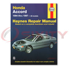 haynes honda accord 94 97 repair manual 42013 shop service garage