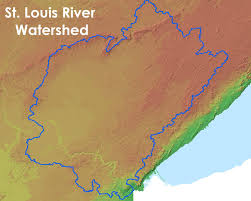 Map Of St Louis Lakesuperiorstreams St Louis River Maps