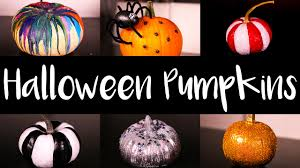 Halloween Pumpkin Decorating Ideas Halloween Pumpkin Decorating Ideas Diy Youtube