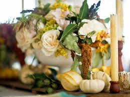 how to decorate a thanksgiving dinner table use white pumpkins to decorate your thanksgiving table hgtv u0027s