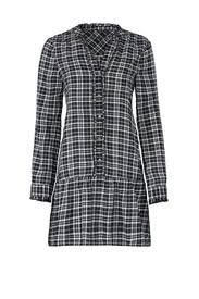 kaisa plaid dress by joie for 45 rent the runway