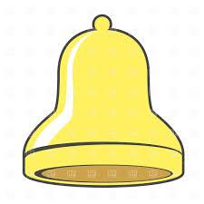 golden christmas bell free vector clipart image 618 u2013 rfclipart