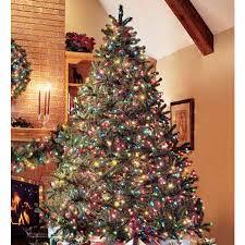 exquisite decoration trees prelit glittery pine slim pre