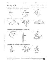 geometry surface area and volume worksheets free worksheets