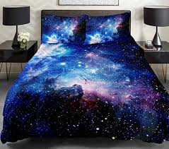 Space Bed Set Galaxy Quilt Cover Galaxy Duvet Cover Galaxy Sheets Space Sheets