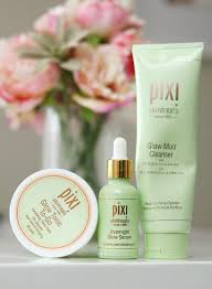 the summer of skin care glycolic acid goodness with pixi glow mud