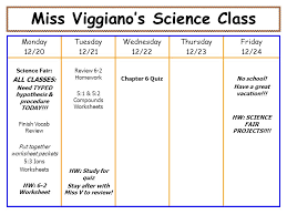 miss viggiano u0027s science class monday 1 13 tuesday 1 14 wednesday 1