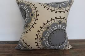 blue and gray sofa pillows unique brown and gray throw pillows with taupe blue brown grey decorative pillow cover by iwantthatpillow 7 jpg