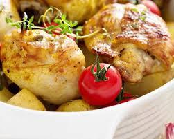 cuisiner cuisse de poulet recette cuisses de poulet à la moutarde