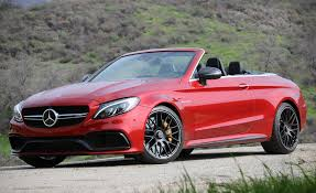 mercedes 2017 mercedes amg c63 cabriolet test u2013 review u2013 car and driver