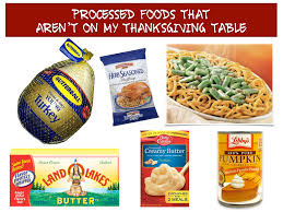 six simple tips to eat less processed food for thanksgiving