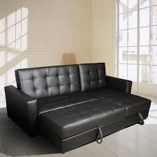 Black Tufted Sofa by Homcom Button Tufted Sofa Bed Set Sectional Daybed Storage Box