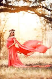 claire chiffon cape maternity gown chiffon dress off shoulders