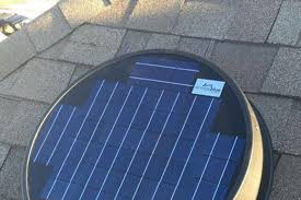solar attic fan solarkool