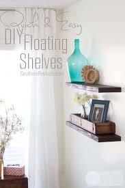 Cheap Sturdy Bookshelves by Quick Easy U0026 Budget Friendly Diy Floating Shelves