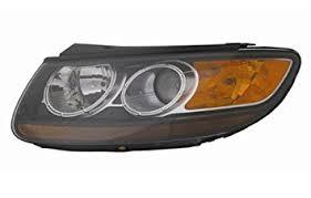 hyundai santa fe light replacement amazon com hyundai santa fe replacement headlight assembly 1