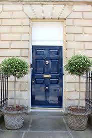 White Front Door 21 Cool Blue Front Doors For Residential Homes