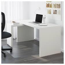 bureau ikea malm malm bureau met uittrekbaar blad wit 151x65 cm ikea