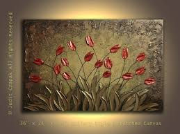 made original modern textured painting on canvas by judit