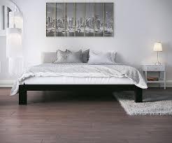 Metal Platform Bed Frame Stella Metal Platform Bed Frame Modern Finish