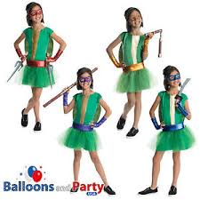 Teenage Mutant Ninja Turtles Halloween Costumes Girls Girls Tmnt Teenage Mutant Ninja Turtles Halloween Fancy Dress Tutu