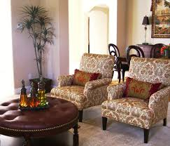 Round Living Room Chairs by Round Tufted Ottoman Living Room Traditional With Art Beautiful