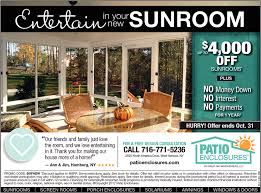Patio Enclosures Rochester Ny by In Your New Sunroom Patio Enclosures West Seneca Ny