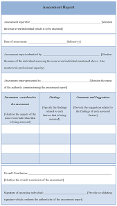 business assessment report template it assessment template aradio tk
