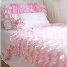 Ruffled Bed Set Ruffle Bedding