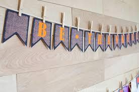 free printable burlap thanksgiving banners a houseful of handmade