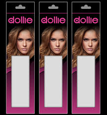 dollie hair extensions 13 upmarket bold hair and beauty packaging designs for a hair and