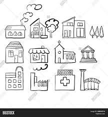 various house types fast vector vector u0026 photo bigstock