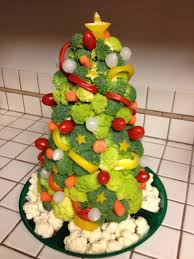 fruit and veggie christmas tree ideas art craft gift ideas