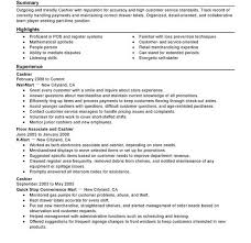 Resume Examples Cashier by Exclusive Idea Cashier Resume Examples 1 Unforgettable Part Time