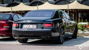 blue bentley 2016 bentley flying spur v8 s 26 august 2016 autogespot