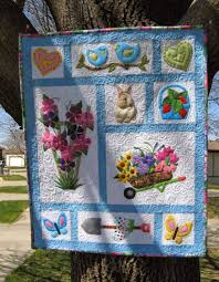 stitching with 2 strings quilt along 2015