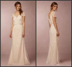 discount gorgeous beaded a line wedding dresses 2016 bhldn aurora